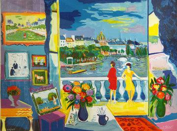 Deux Femme Au Balcon 1992 Limited Edition Print by Jean Claude Picot