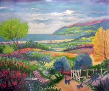 L'vallee Du Jardin a Cannes 1998 Limited Edition Print by Jean Claude Picot