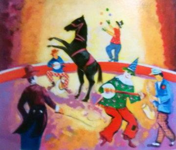 Le Cheval De Cirque 2004 Limited Edition Print - Jean Claude Picot