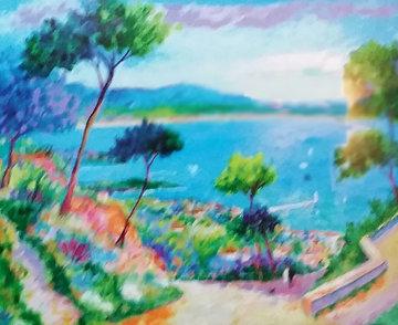 Promenade  Le Matin 2004 Limited Edition Print - Jean Claude Picot
