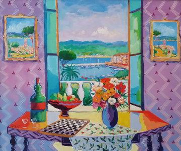 Le Salon St. Tropez 1999 Limited Edition Print - Jean Claude Picot