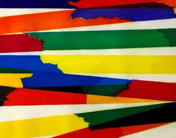 Composition 1969 21x17 Works on Paper (not prints) - Piero Dorazio