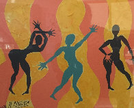 Three Graces 2011 33x27 Works on Paper (not prints) by Pierre Matisse - 1