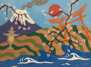 Oh Japen, Land of Beauty 24x32 Works on Paper (not prints) - Pierre Matisse