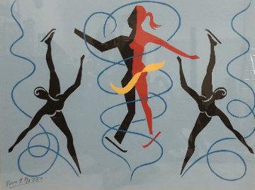 Go Figure 24x32 Works on Paper (not prints) - Pierre Matisse