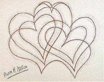 All My Love ( Sanguine) Drawing - Pierre Matisse