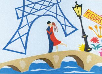 Paris Rendezvouz Huge 36x50 Limited Edition Print - Pierre Matisse