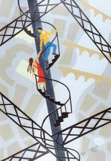 L'Escalier D'Amour Limited Edition Print by Pierre Matisse