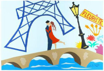 Paris Rendezvous 1999 Limited Edition Print - Pierre Matisse