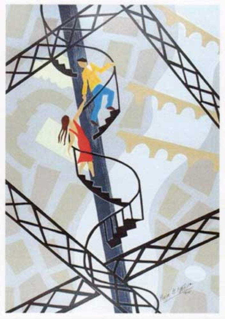 L'Escalier D'Amour 1999 Limited Edition Print by Pierre Matisse