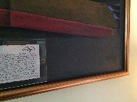A Tropical Heat Wave 1990 38x50 Super Huge Original Painting by Markus Pierson - 3