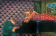 A Tropical Heat Wave 1990 38x50 Super Huge Original Painting by Markus Pierson - 0