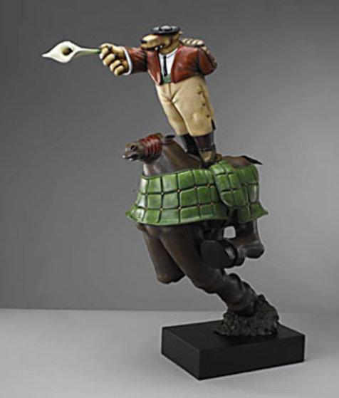 Picador Resin Sculpture 2004 Sculpture by Markus Pierson