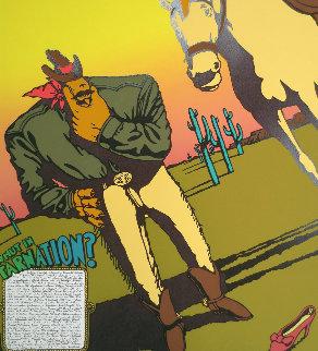 Whut in Tarnation  1993 Limited Edition Print by Markus Pierson