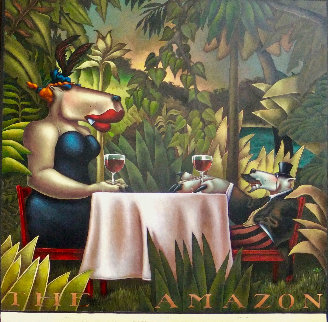 Amazon  Original Painting - Markus Pierson