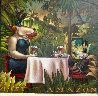 Amazon Oil on Canvas 60x60 Super Huge Original Painting by Markus Pierson - 0
