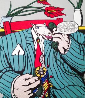Homage to Lichtenstein II 1992 Limited Edition Print - Markus Pierson