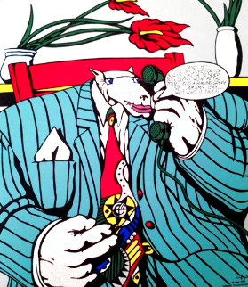 Homage to Lichtenstein II 1992 Limited Edition Print - Markus Pierson
