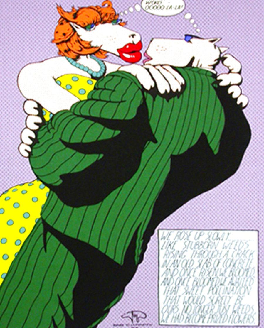 Homage to Lichtenstein IV 1992 Limited Edition Print by Markus Pierson
