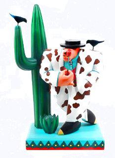 Gaucho Acrylic Sculpture 1989 26 in  Sculpture - Markus Pierson