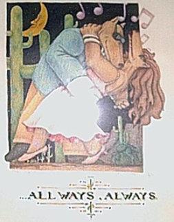 All Ways, Always 1991 Limited Edition Print - Markus Pierson