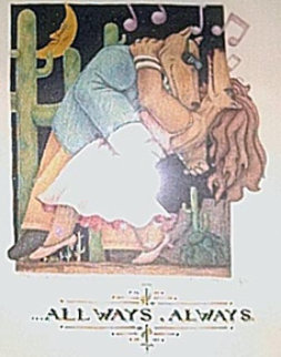 All Ways, Always 1991 Limited Edition Print by Markus Pierson