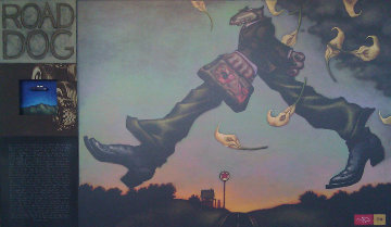 Road Dog Limited Edition Print - Markus Pierson