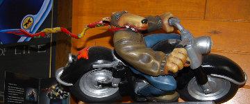 Midnight Rider Resin Sculpture 2003 Sculpture - Markus Pierson