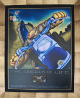 Wheels of Life 2004 on Panel Limited Edition Print by Markus Pierson - 1