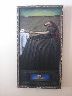 Desert Flower 2005 48x26 Super Huge Original Painting by Markus Pierson - 4