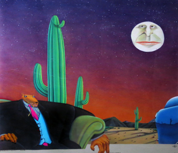 Truth About Melvin 1990 38x39 Original Painting by Markus Pierson