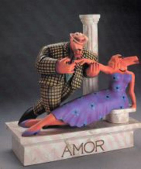 Dip Wood Sculpture 1988 Sculpture by Markus Pierson
