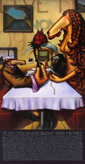 Dinner For Three 2000 Limited Edition Print by Markus Pierson