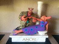 Amor Wood Sculpture 1990 Sculpture by Markus Pierson - 0