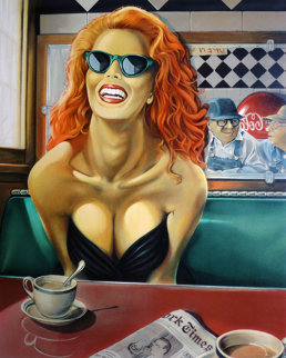 Maxine 1993  AP Limited Edition Print by Patrick Pierson