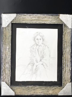 Untitled Drawing 2007 16x20 Drawing -  Pino
