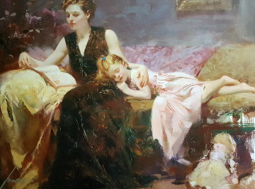 Precious Moments 2000 Limited Edition Print by  Pino