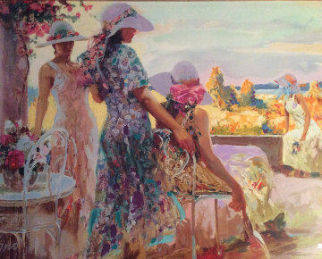 On the Terrace 1997 Limited Edition Print by  Pino