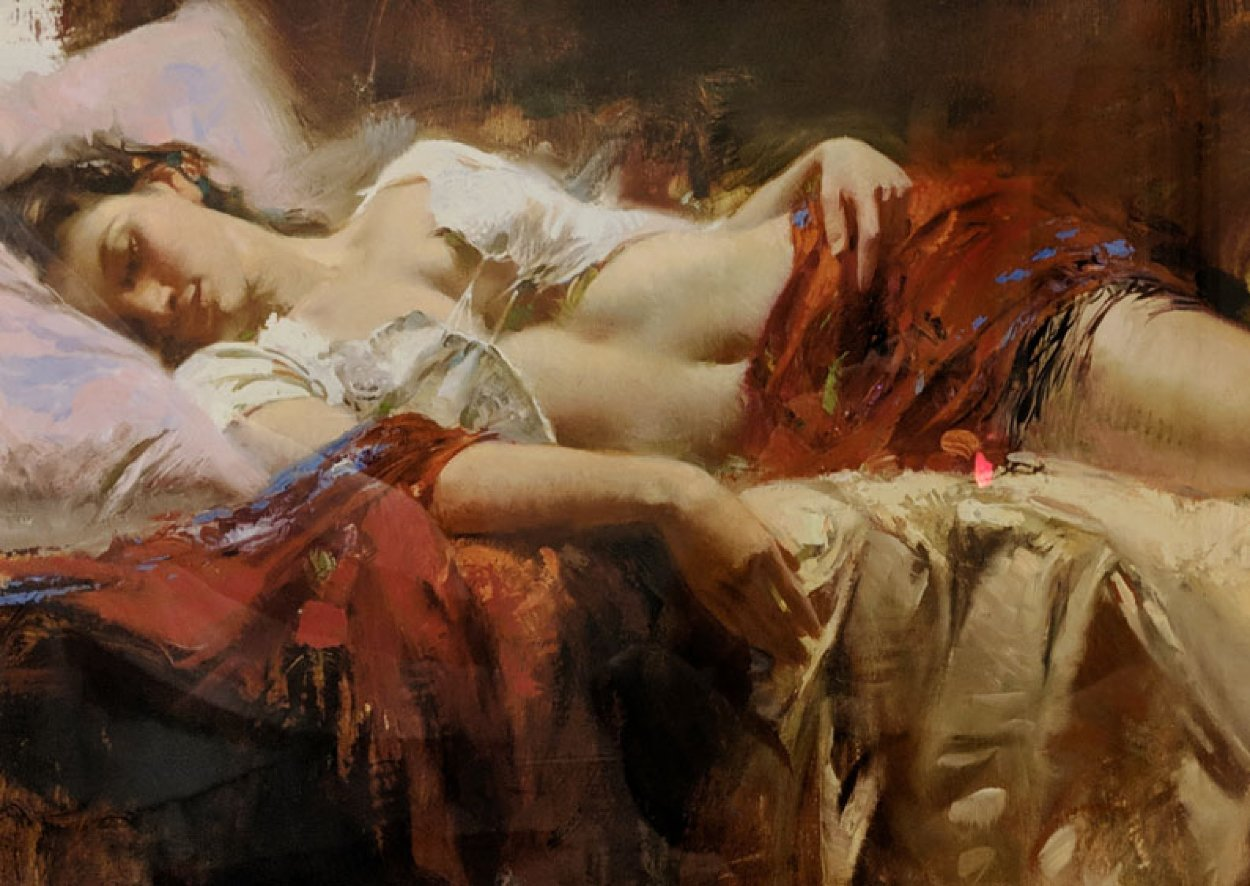 Restful 1998 Limited Edition Print by  Pino