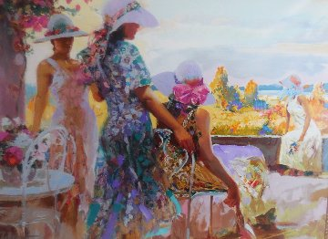 On the Terrace Pp 1997 Limited Edition Print by  Pino