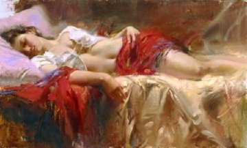Restful AP 2005 Limited Edition Print by  Pino