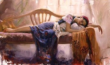At Rest Embellished Limited Edition Print by  Pino
