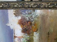 Fountain 35x45 Huge Original Painting by  Pino - 4