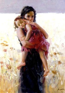 Maternal Instincts Limited Edition Print by  Pino