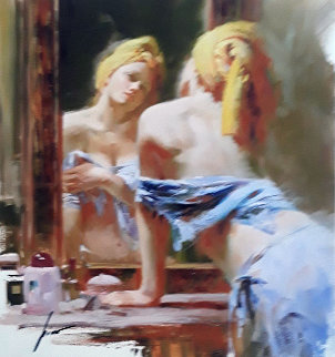 Morning Reflections 2002 Limited Edition Print by  Pino