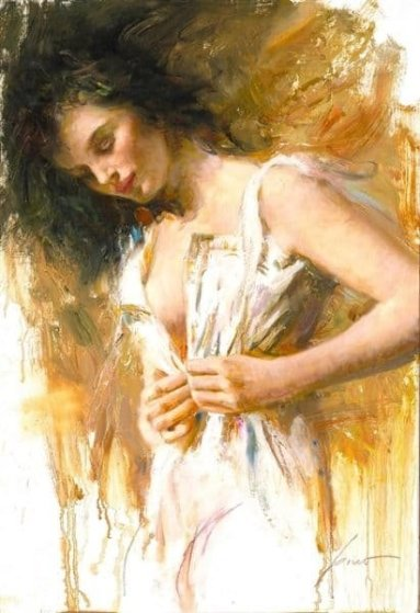 White Camisole 2008 Limited Edition Print by  Pino