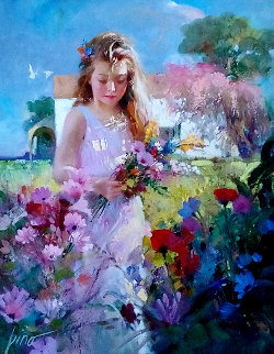 Savannah 41x36 Original Painting by  Pino