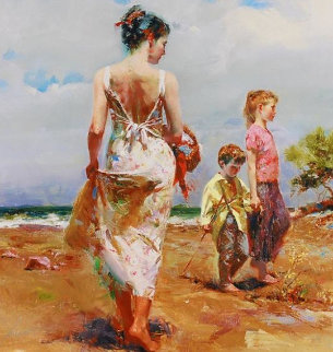 Mediterranean Breeze 2005 Limited Edition Print by  Pino