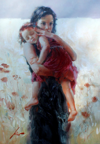 Maternal Instincts CP Limited Edition Print by  Pino