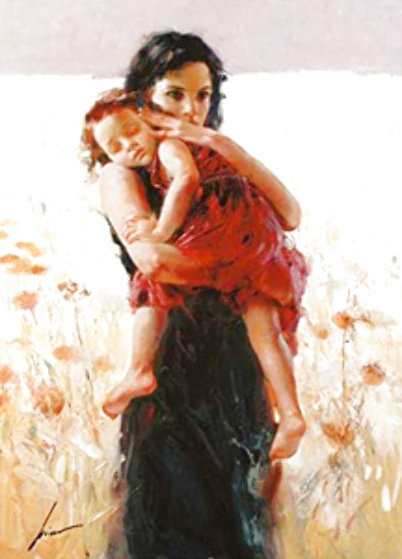 Maternal Instincts 2002 Limited Edition Print by  Pino